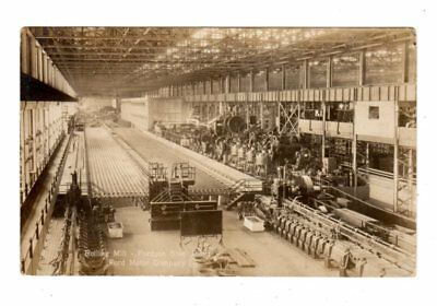 Old Postcard Rolling Mill Fordson Steel Plant Ford Motor Company