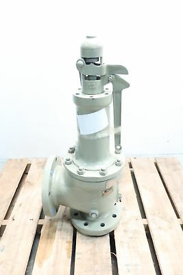 Consolidated Dresser 1906NC-1-34 4x6in Flanged Relief Valve Steel 250psi