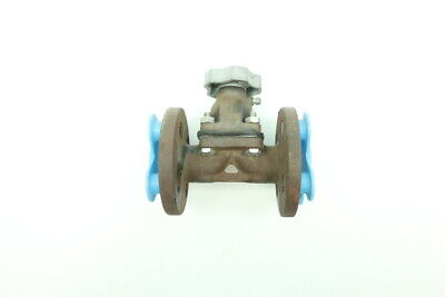 Hills Mccanna Manual Iron Flanged 1/2in Diaphragm Valve