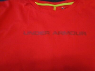Under Armour HeatGear UA Boy/'s Armour UP T-Shirt Youth 1242878 Choose Red Grey