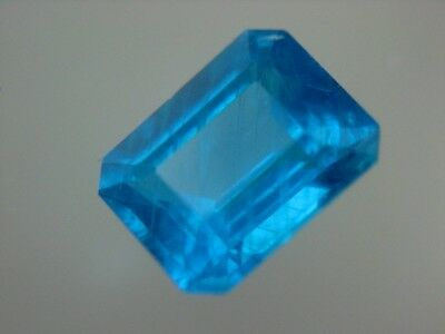NEON APATIT  -  OCTAGON CUT  -  6x4,6 mm  -  0,88 ct.