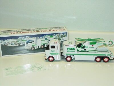2006 Hess Toy Truck and Helicopter in Original Box w/Instructions, Toy Vehicle