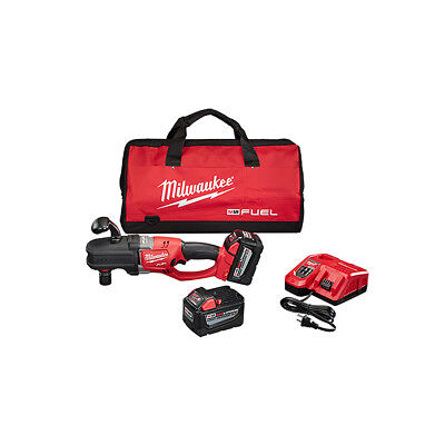 Milwaukee 2708-22HD M18 Fuel Hole Hawg Right Angle Drill Kit with QUIK-LOK