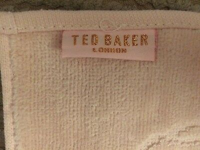 TED BAKER Washcloth - Pink. Brand New Without Tags