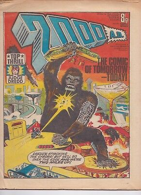 2000AD Programme 5 26th March 77