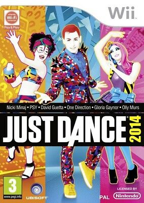 Nintendo Wii game - Just Dance 2014 UK boxed