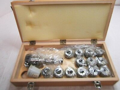 Bison 7-171-4108 NMTB 40 Shank ER40 Collet Chuck Set 17pcs self-releasing system