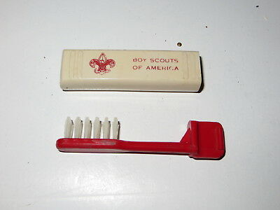 Vintage Boy Scouts Of America Bsa Toothbrush