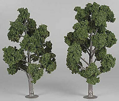 "Woodland Scenics TR1517 N/HO Assembled Tree Medium Green 7"" Train Scenery"