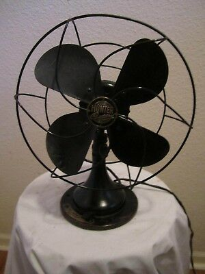Antique Hunter Century Desk Electric Fan No. 650