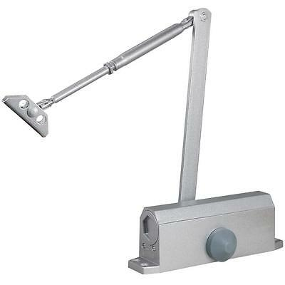 New 65-85KG Aluminum Commercial Door Closer Two Independent Valves Control Sweep