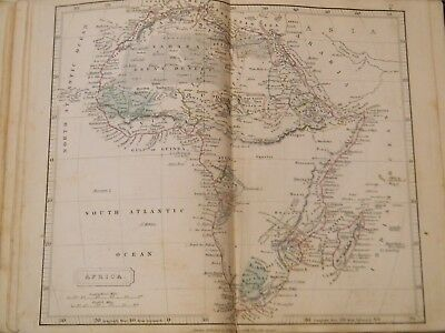 1835 - Arrowsmith's Atlas  Of Modern Geography - 29 Antique Hand Colored Maps