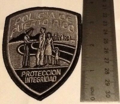 Puerto Rico State Police Tactical Subdued (Sgt. Size)Patch (last one available)