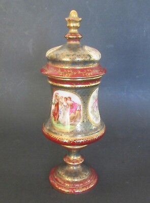 ROYAL VIENNA COVERED LIDDED URN Repair Austria