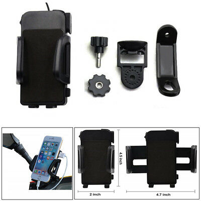 High Quality 2 IN 1 12V to 85V Motorcycle Cell Phone Charger & Holder Waterproof
