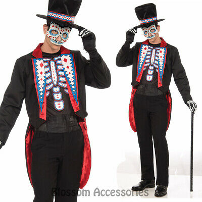 Day of The Dead Halloween Mens Costume