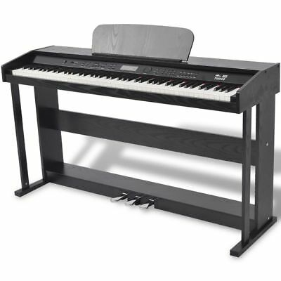 vidaXL 88 Tasten Elektro Klavier Digital E-Piano 3 Pedale Keyboard 150 Sounds