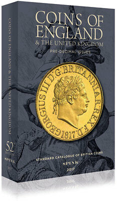 SPINK COINS OF ENGLAND 2017 HARDBACK **NOW HALF PRICE**  **Free UK P&P**