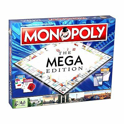 Monopoly The Mega Edition Board Game Brand New And Sealed