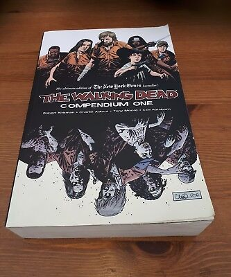 The Walking Dead Compendium One  Graphic Novel Issues 1 To 48