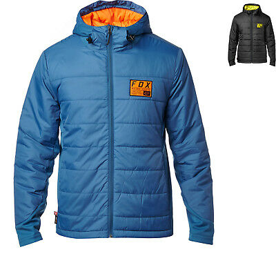Fox Racing Khali Hooded Jacket Winter Thermal Water-Resistant Mens Casual Wear