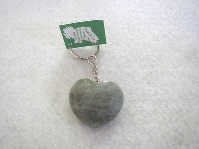 Heart Key Ring, Connemara Marble by Gerard