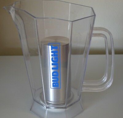 Bud Light Polar Ice Pitcher Insert In Center Fills With Ice To Keep Beer Cold!!!