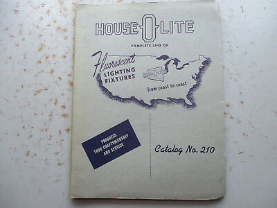 House-O-Lite Catalog of Fluorescent Lighting Fixtures from 1960
