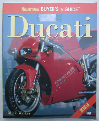 Ducati Motorcycle Buyers Guide Book V-Twins Singles Twins Gt Ss Darmah Racers