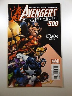 The Avengers #500 Chaos Part 1 Dissembled!! Beautiful Beautiful NM- Condition!!