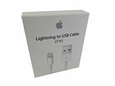 Apple Lightning to USB Cable 1m White MD818AM/A Charge Sync 8-Pin Cable New