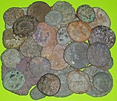 COLLECTION 32 Ancient GREEK ROMAN & BYZANTINE MEDIEVAL COINS 400 BC-1400 AD lot