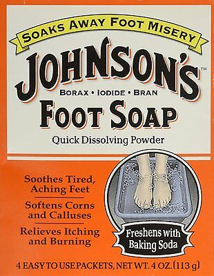 Johnson's Foot Soap, Packets - 4 each