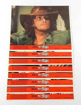 """When You Comin Back Red Ryder 8"""" x 10"""" Movie Lobby Card Set of (8)"""