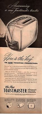 1947 Country Gentleman Magazine Advertisement Toastmaster 1 Page AD A460