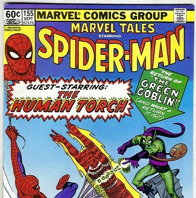 The Amazing Spider-Man #17 Reprint in Marvel Tales #155 from Sept. 1983 in F/VF