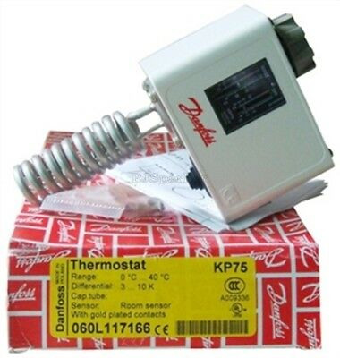 1Pcs Danfoss KP75 Temperature Switch Plc Module xh