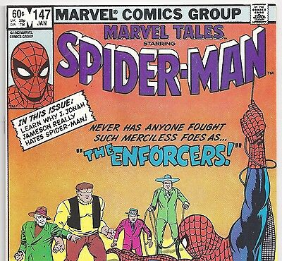 The Amazing Spider-Man #10 Reprint in Marvel Tales #147 from Jan. 1983 in VF