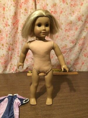 18 inch tall American Girl Doll with Blonde Hair & Brown Eyes
