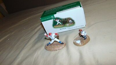 Dept. 56 Christmas In The City 59425 Baseball Warming Up In Original Box