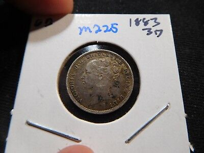 M225 Great Britain 1883 3 Pence