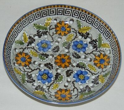 ANTIQUE C1840 STAFFORDSHIRE Bowl PEARLWARE Saucer SALOPIAN