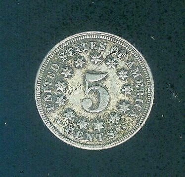 1867 United States Five Cent Coin