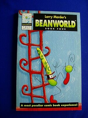 Beanworld Book Four by Larry Marder. Alternative GN. 1st printing. New.