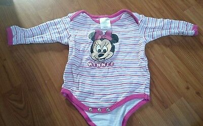 Disney Baby Minnie Mouse Langarmbody Gr. 62/68