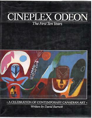 Cineplex Odeon The First Ten Years Contemporary Canadian Art book David Burnett