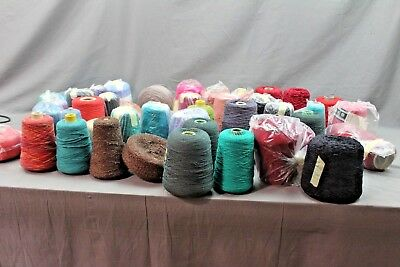 Large Job Lot Of Knitting Machine Yarn Oddments Lot1  ## New Wh Sd