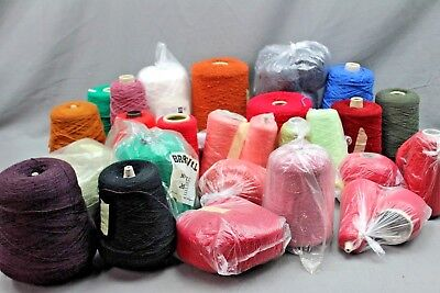 Large Job Lot Of Knitting Machine Yarn Oddments Lot2  ## New 227 Sd