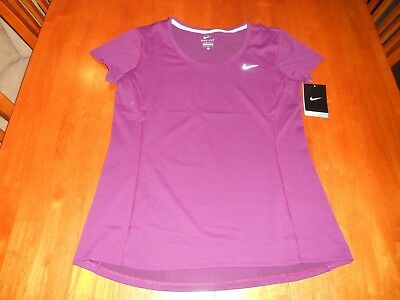 NEW with tags $45 Nike Running womens shirt top size M medium athletic