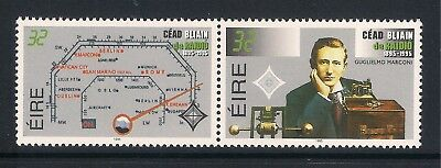 Ireland Eire mint stamps - 1995 Centenary of Radio, SG959/960, MNH